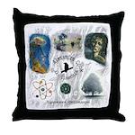 Linandara's art Throw Pillow