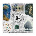 Linandara's art Tile Coaster