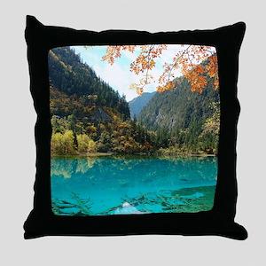 JIUZHAIGOU VALLEY 3 Throw Pillow
