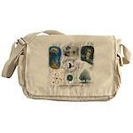 Linandara's art Messenger Bag