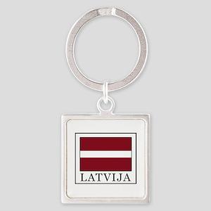 Latvija Keychains