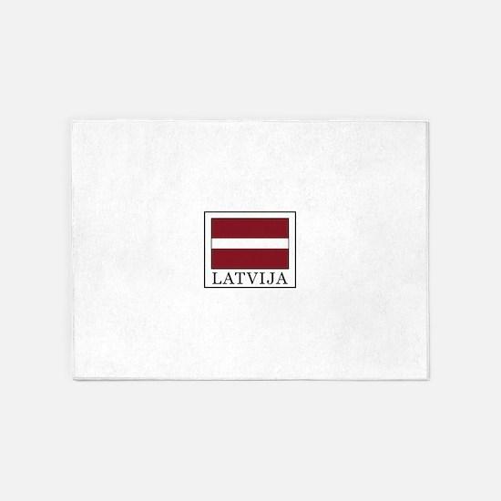 Latvija 5'x7'Area Rug