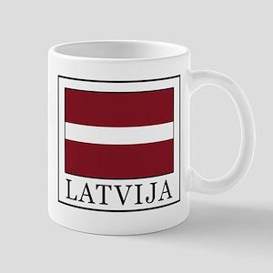 Latvija Mugs