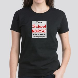 school nurse Women's Dark T-Shirt