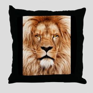 Lion - The King Throw Pillow