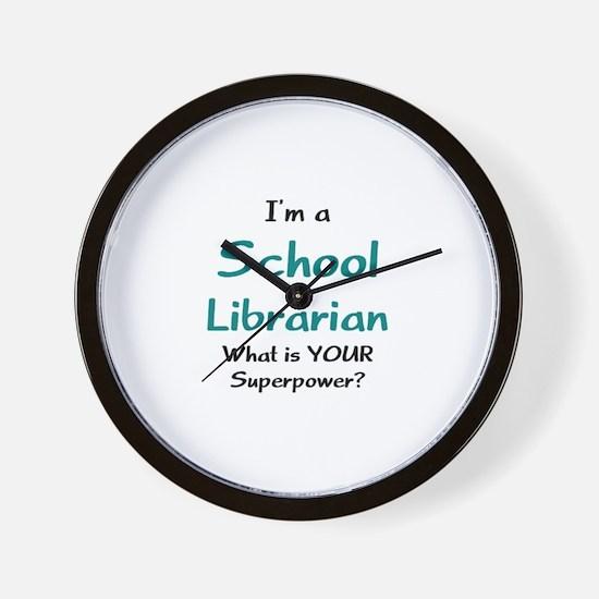 school librarian Wall Clock