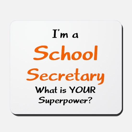 school secretary Mousepad