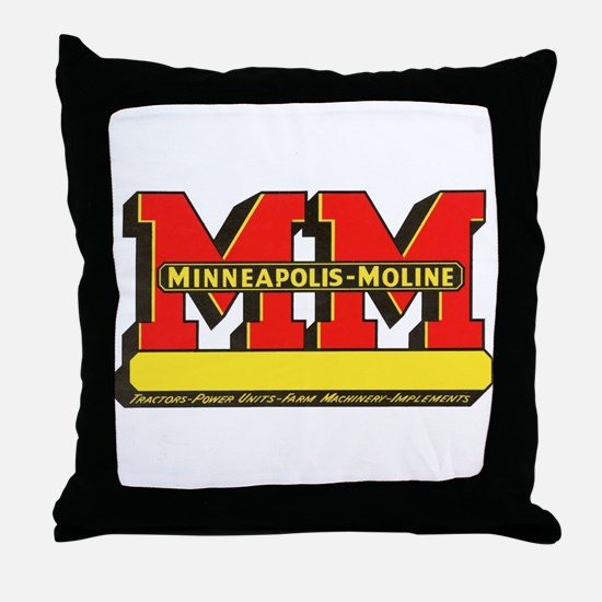Funny Minneapolis Throw Pillow