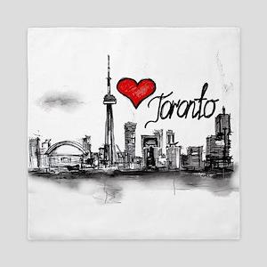 I love Toronto Queen Duvet
