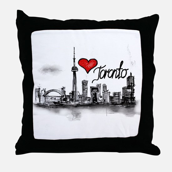 I love Toronto Throw Pillow