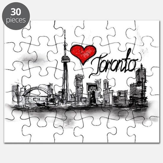 I love Toronto Puzzle