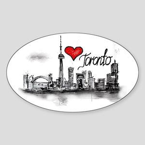I love Toronto Sticker