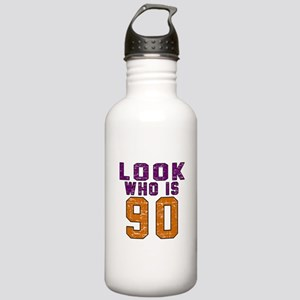 Look Who Is 90 Stainless Water Bottle 1.0L