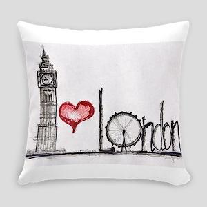 I love London Everyday Pillow