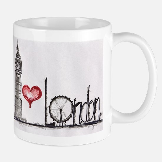 I love London Mugs