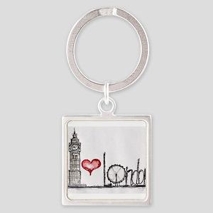 I love London Keychains