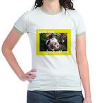 Don't Eat Me Jr. Ringer T-Shirt