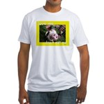 Don't Eat Me Fitted T-Shirt