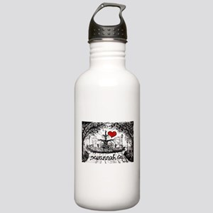 I love savannah Ga Stainless Water Bottle 1.0L