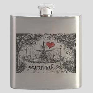 I love savannah Ga Flask