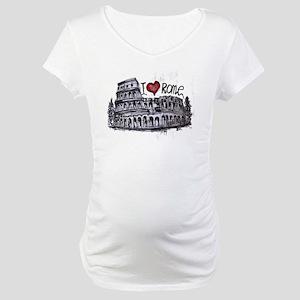 I love Rome  Maternity T-Shirt