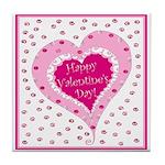 Frilly Valentine Tile Coaster