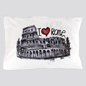 I love Rome Pillow Case