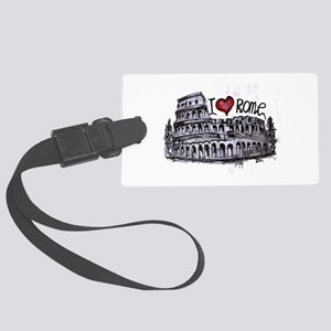 I love Rome Large Luggage Tag