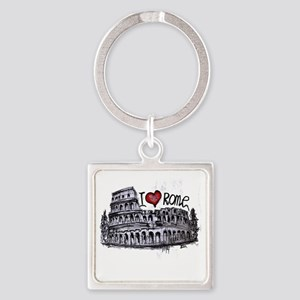 I love Rome Keychains