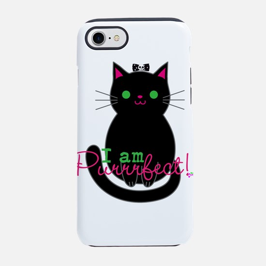 Purrfect Cat iPhone 8/7 Tough Case