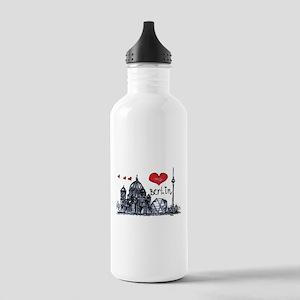 I love Berlin Stainless Water Bottle 1.0L