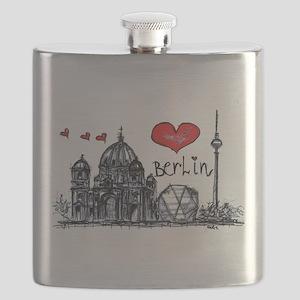 I love Berlin Flask