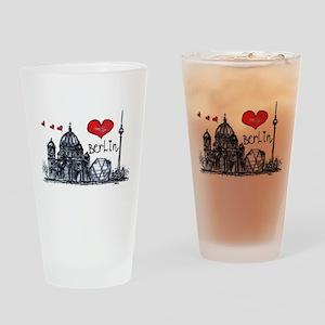I love Berlin Drinking Glass