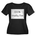 100% Cruelty Free Women's Plus Size Scoop Neck Dar