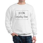 100% Cruelty Free Sweatshirt