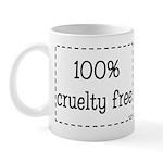 100% Cruelty Free Mug