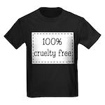 100% Cruelty Free Kids Dark T-Shirt