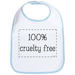 100% Cruelty Free Bib