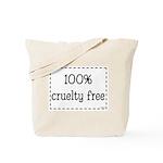 100% Cruelty Free Tote Bag