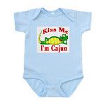 Kiss Me I am Cajun  Infant Creeper