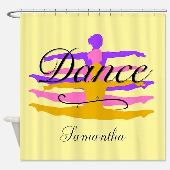 Dance In Purple Shower Curtain