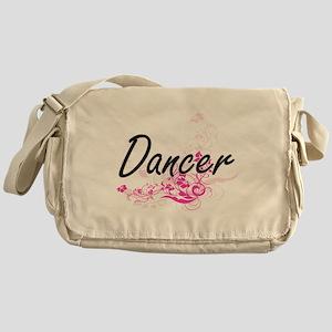 Dancer Artistic Job Design with Flow Messenger Bag