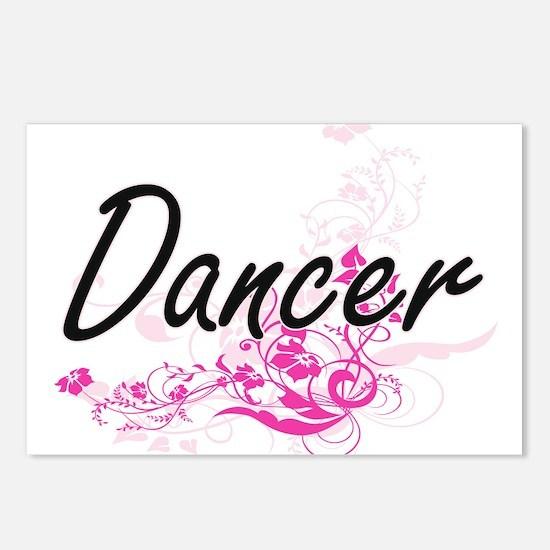 Dancer Artistic Job Desig Postcards (Package of 8)