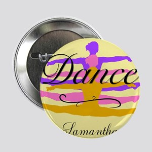 "Yellow Dance 2.25"" Button"