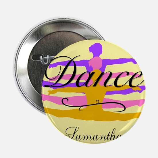 "Yellow Dance 2.25"" Button"
