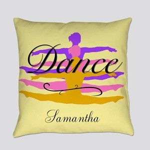 Yellow Dance Everyday Pillow