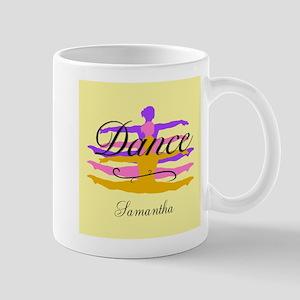 Yellow Dance Mugs