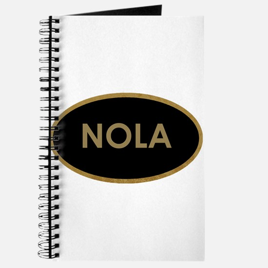 NOLA BLACK AND GOLD Journal