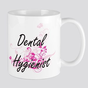 Dental Hygienist Artistic Job Design wi Mugs