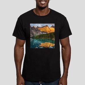 BANFF NATIONAL PARK 4 Men's Fitted T-Shirt (dark)